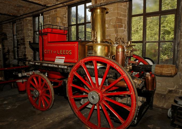 Leeds Industrial Museum's vintage fire engine