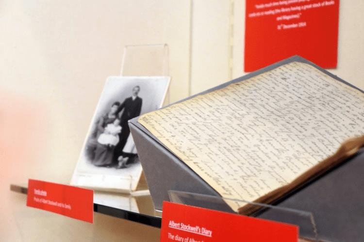 Albert Stockwell's diary