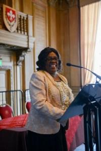 Lord Mayor of Leeds, Councillor Eileen Taylor