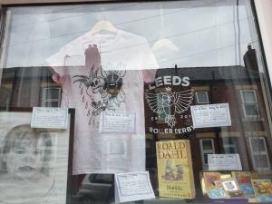 Catherine's Museum Window display