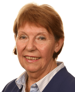 Leader of Nottinghamshire County Council Councillor Kay Cutts MBE