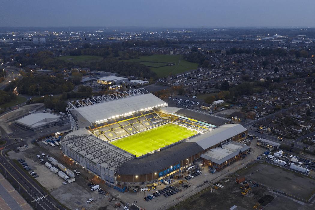 Elland Road Stadium and Fullerton Park