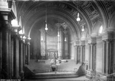 The Leeds Town hall organ as it was in 1888. Credit Leeds Libraries and Information Service