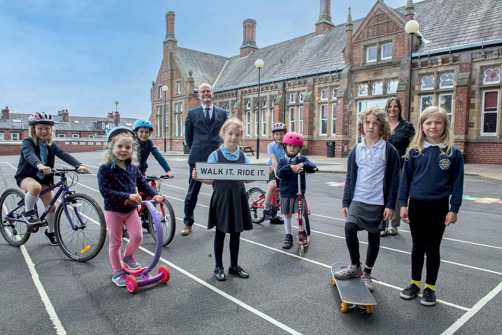 Walk it Ride it Chapel Allerton school