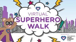 Virtual Superhero Walk