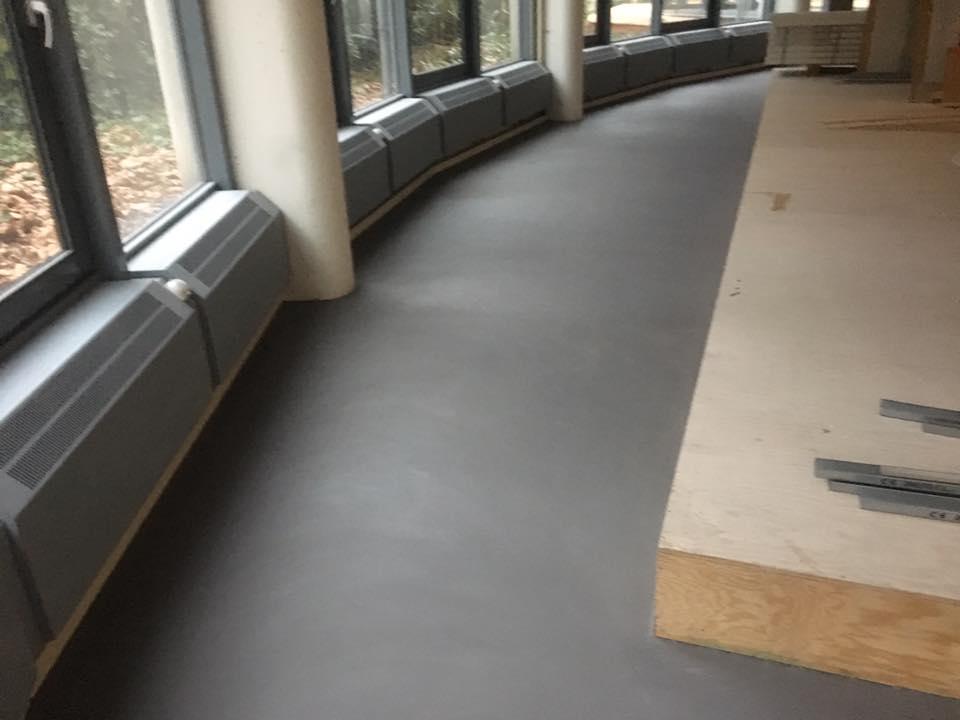 Leef beton kantoorvloer amsterdam u2013 robuuste betonlook vloer in kantoor