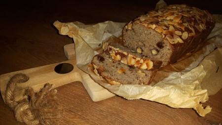 Paleo Noten-bananenbrood