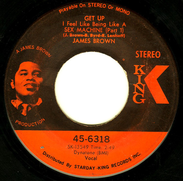 Get Up I Feel Like Being A Sex Machine - James Brown