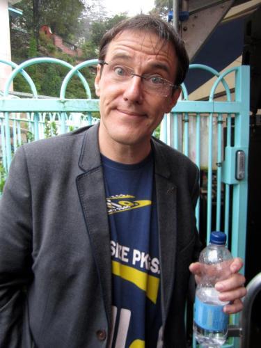 Stephen Morris of New Order at Festival No.6, 2012