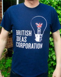 British Ideas Corporation T-shirt