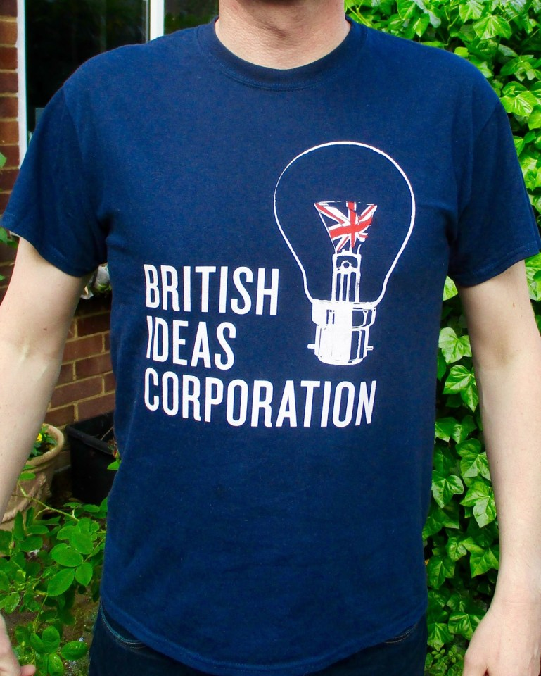 British Ideas Corporation T-shirt
