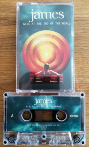 James - Girl At The End Of The World on cassette