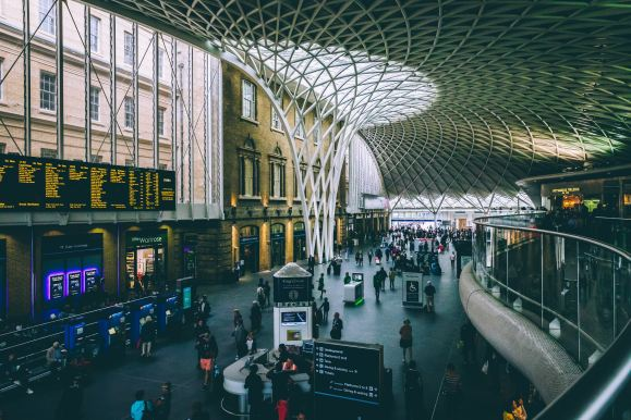 King's Cross station main concourse