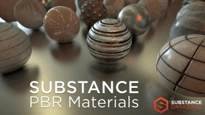 SUBSTANCE  PBR Materials  SUBSTANCE