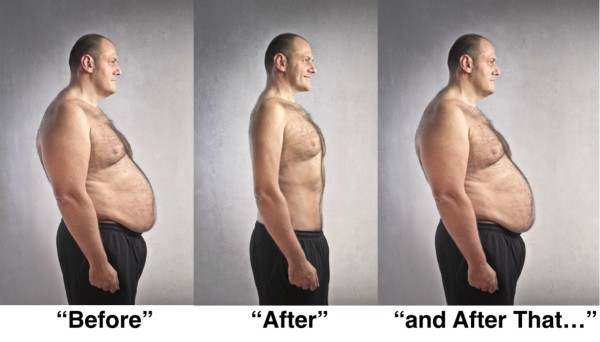 Weight Loss - before after and after that