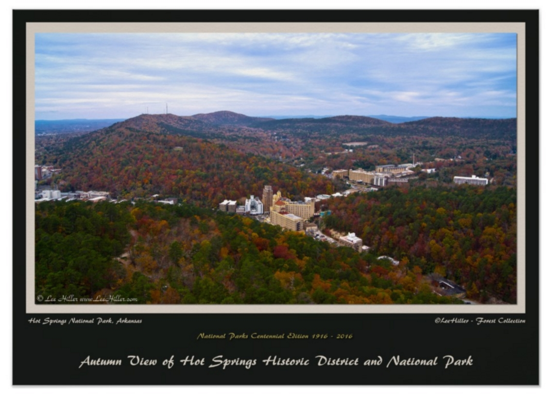 Hot Springs City and National Park 1916 – 2016 Centennial Ed Poster