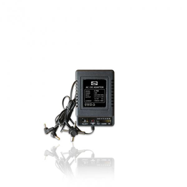 LEMAX AC/DC Adaptor (500mA, 1000mA)