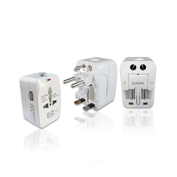 Universal Travel Adaptor USB 2A