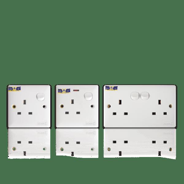 Switch Socket (Single, Double) SIRIM