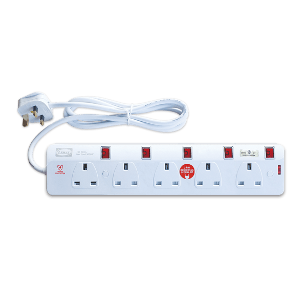 Extension Socket-ES-705N(SP) (2mtr)