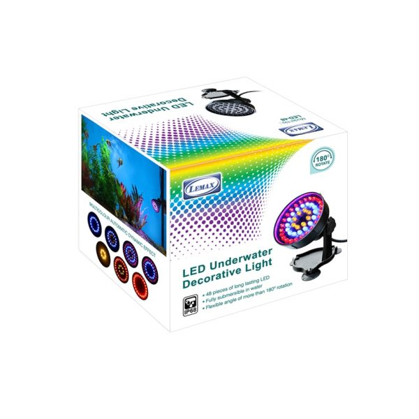 Underwater LED Light packingLEMAX