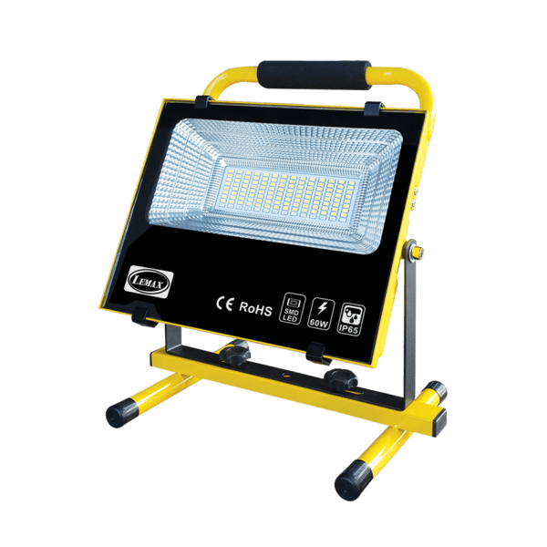 LEMAX LED Portable Rechargeable Flood Light (60W)