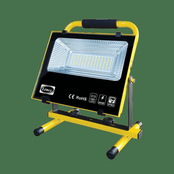 LEMAX LED Portable Rechargeable Flood Light (60W)