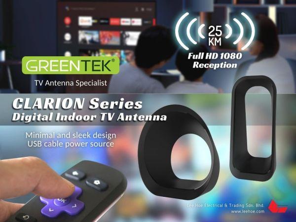 GREENTEK Indoor TV Antenna Clarion