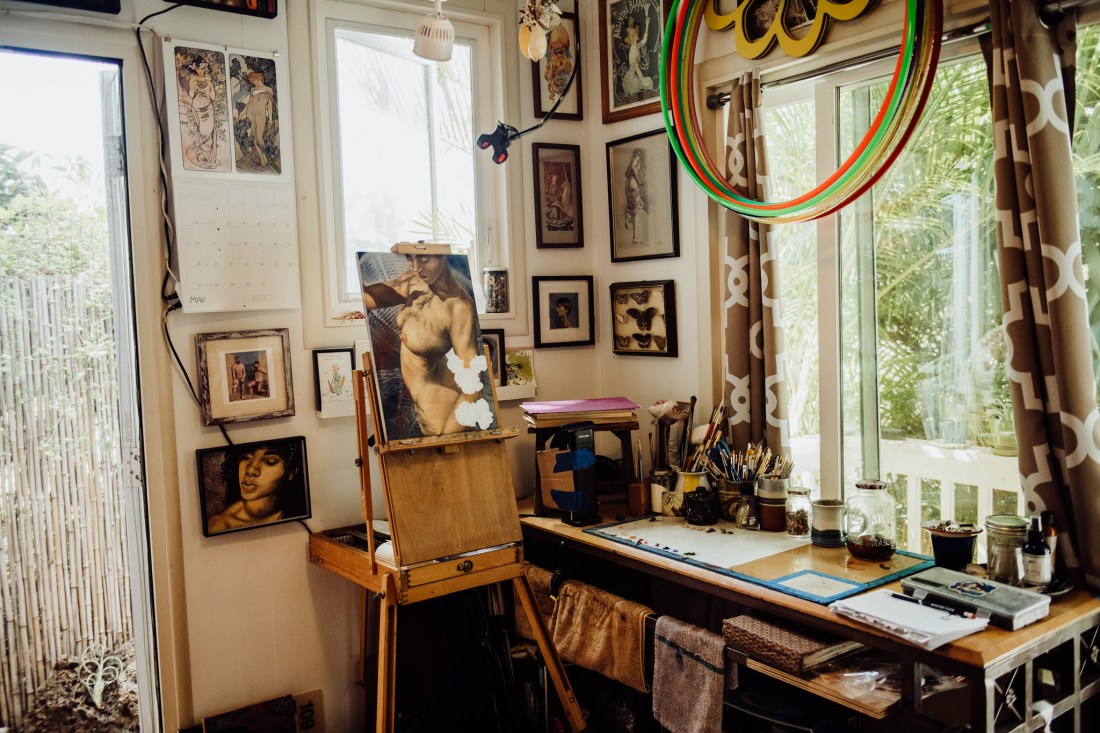 documentary photography tiny house artist studio
