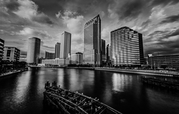 cityscape black and white urban landscape fine art photography