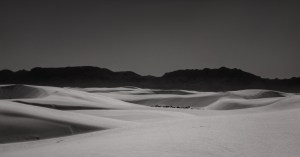 black and white abstract desert dune fine art landscape photography