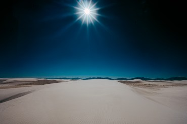 white sands desert photography