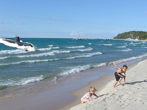 Great Lakes Submarine Photo