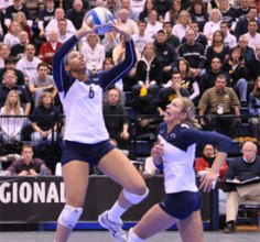 """Alisha Glass & Penn State volleyball - """"best ever"""""""