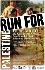 Run for Palestine ~ Saturday, October 8th