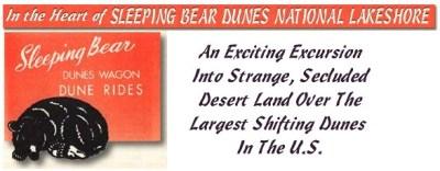 Sleeping Bear Dune Rides: Remembering the Dunesmobiles