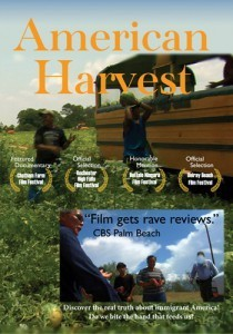 American Harvest Documentary showing November 27th