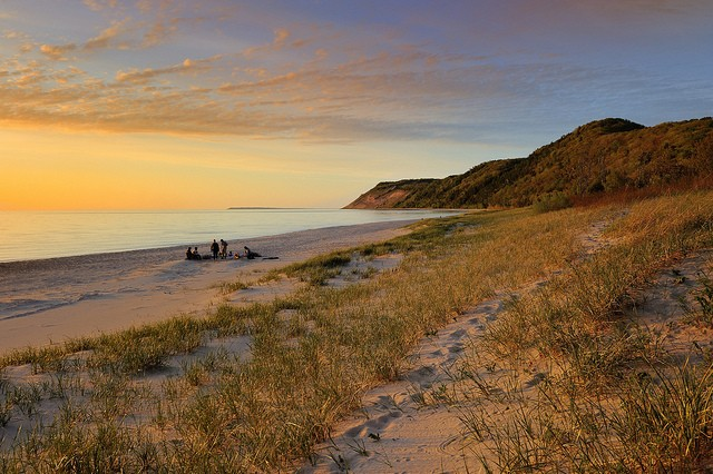 """Empire Bluff""  Sleeping Bear Dunes National Lakeshore"