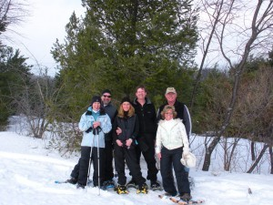 Snowshoeing at Silver Leaf