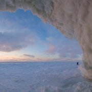 Ken Scott's Ice Caves of Leelanau Book