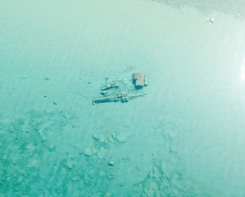 Manitou Passage shipwrecks shared by Coast Guard Air Station