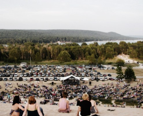2015 Manitou Music Festival Dune Climb Concert