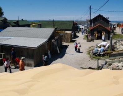 Leland Sand Dunes overlooking Fishtown