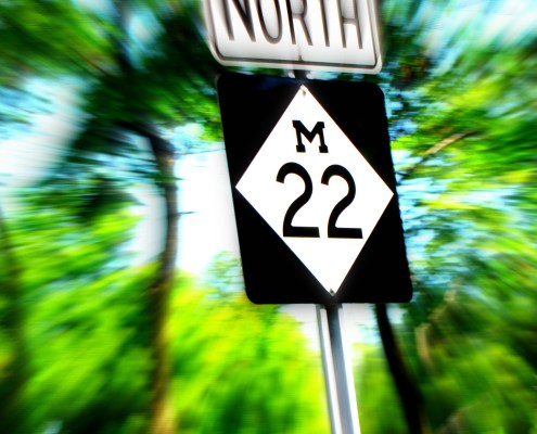 New Design Coming for M-22 Road Signs