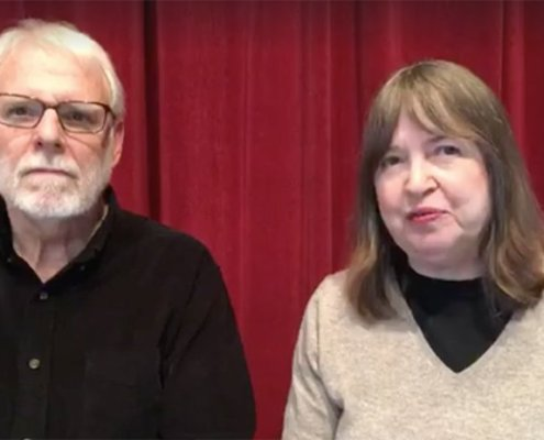 Interview with Leelanau Podcast Producers Rebecca Reynolds & Jim Carpenter