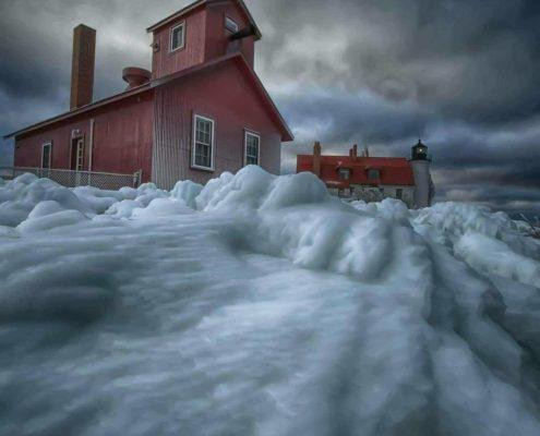 Winter Photo Workshop at Point Betsie Lighthouse