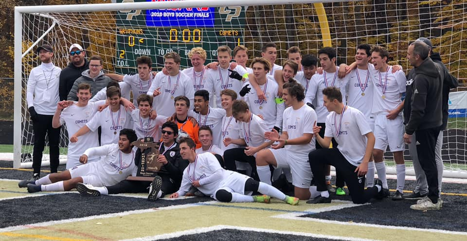 Leland wins to State Soccer Championship!
