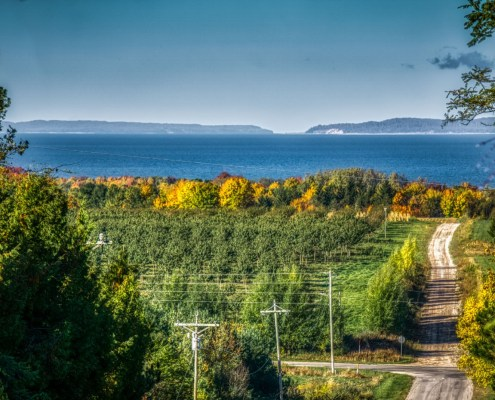 A Clear Day on the Manitou Passage
