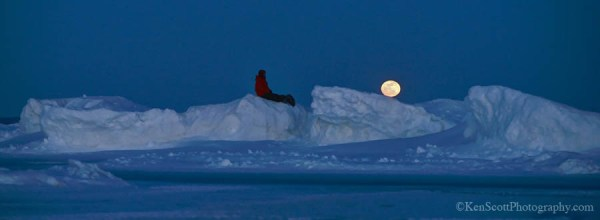 Snowshoe or Ski on the Full Moon to Celebrate Sleeping Bear