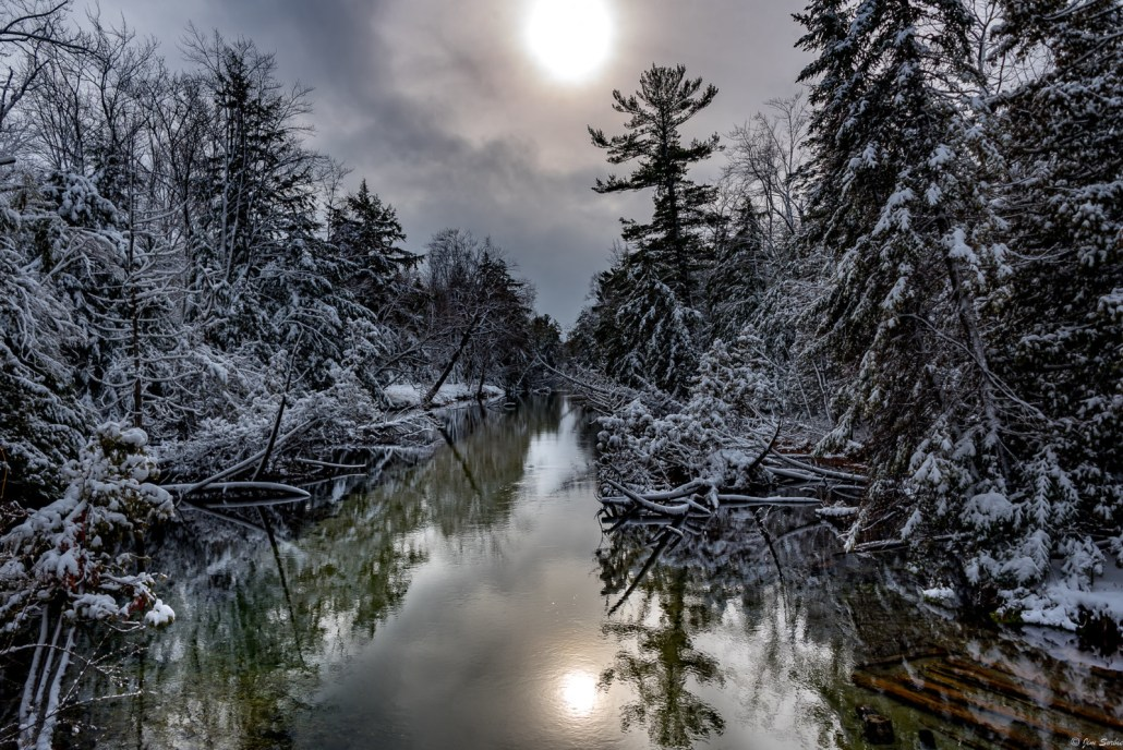 Crystal River after a Winter's Storm by Jim Sorbie